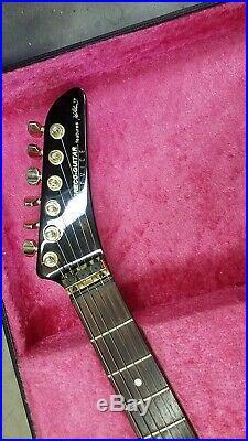Greco DEVICE Explorer Electric Guitar Japan Vintage Used black