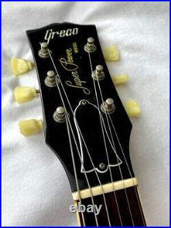 Greco EG480R Super Power LP Type'80 Vintage Electric Guitar Made in Japan