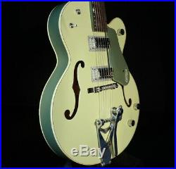 Gretsch G6118T-60VS Vintage Select Anniversary 2-Tone Smoke Green Guitar 2018