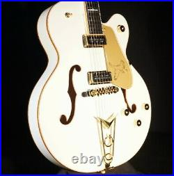 Gretsch G6136-55VS White Falcon Vintage Select WithCadillac Tailpiece Mint 2019
