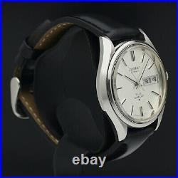 HTF Vintage JAPAN KING SEIKO WEEKDATER 5626-7121 25Jewels Automatic goodworking