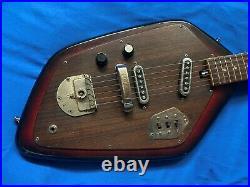 HY-LO (by KAWAII) SURFER electric guitar, vintage 1966 copy VOX PHANTOM