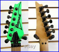 IBANEZ JEM777LNG Steve Vai Electric Guitar Loch Ness Green with Case JEM 1987