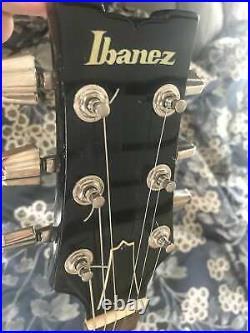 Ibanez Artist AR 50 AR50 AR-50 1980 Black Made in Japan vintage guitar