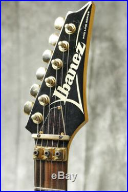Ibanez PL650 Black color Electric guitar 1985 model with SoftCase Made in JAPAN