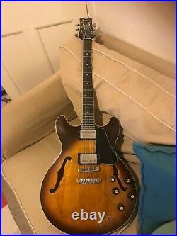 Ibanez artist hollowbody jazz guitar vintage 1980 beautiful