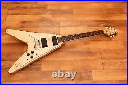 Iconic Flying V Guitar Kill'em sound Metallica Authentic Electra