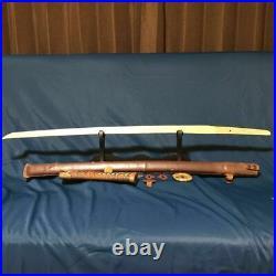 JAPANESE ARMY Samurai Sword KOSHIRAE WW2 Gunto Katana Blade Vintage Antique