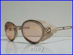 JEAN PAUL GAULTIER 56-6201 Gold Frame Vintage Sunglasses 1990's