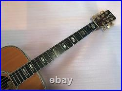 K. Yairi DY-41 Vintage 1976 Acoustic Guitar Solid Rosewood all hand made STUNNING