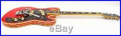 KENT Model 740 1960s Vintage Electric Guitar Red
