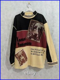 Kansai Yamamoto O2 Archive Vintage Studious Dog Sweatshirt Japan