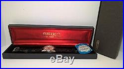 King Seiko Superior Chronometer 5625-7040 Hi-Beat NOS Crystal, Buckle, Box