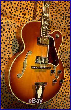L-5 ces Jazz guitar Aria Pro Superb Japanese Vintage Lawsuit AMAZING JVGuitars