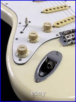 LEFTY! Vintage 62RI Fender Japan MIJ Relic Guitar Left Hand Hendrix Blonde Strat