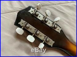 MELODY (by TEISCO) hollow body cutaway electric GUITAR. VINTAGE ca 1960's