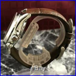 MINT! SEIKO Alpinist Mechanical 6R15-00E0 Green Dial Automatic Men's Watch #173