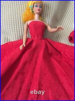 Magnificent color Magic vintage Barbie in Premier gown