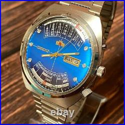 NEW Mens Watch Orient College Perpetual Multi Year Calendar Automatic Japan