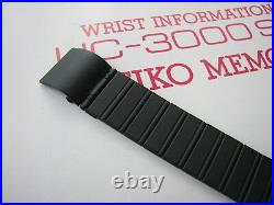 NEW RARE Vintage 1982 NOS SEIKO UC-3000 LCD Digital computer watch with keyboard