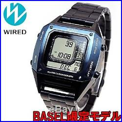 NEW Wired AGAM701 Basel Limited Model Men's Watch From Japan