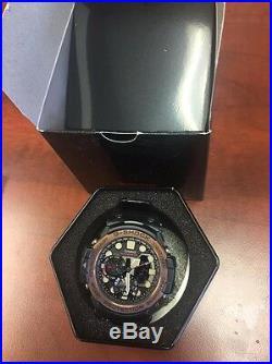New Casio GN1000RG-1A G-Shock Gulfmaster Twin Sensor Men's Watch
