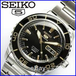 New! SEIKO 5 SPORTS Mechanical Automatic SNZH57JC Men's Watch Made in Japan