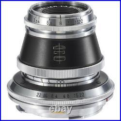 New VOIGTLANDER Heliar Vintage Line 50mm F3.5 Lens VM Mount Manual Focus
