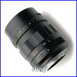 New Voigtlander NOKTON 17.5mm f0.95 Lens Micro Four Thirds Mount Made in Japan