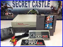 Nintendo NES System Console With Super Mario Bros NEW 72 PIN WARRANTY FAST SHIPING