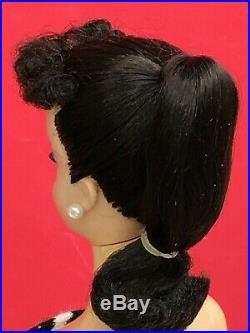 Number 1 Barbie Brunette # 1 ponytail 1959 all original face paint! Tm Box