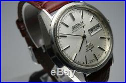 OH, Vintage 1973 JAPAN KING SEIKO CHRONOMETER WEEKDATER 5626-7041 25J Automatic