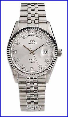 Orient Oyster Sapphire Classic Automatic Watch Silver Dial EV0J003W