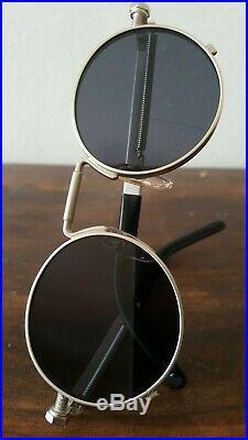 Original JPG Jean Paul Gaultier Vintage 56-8171 Silber Silver Steampunk