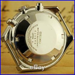 Original Japanese Seiko Chronograph Automatic Kakume 6138-0030 Quickset Day/date