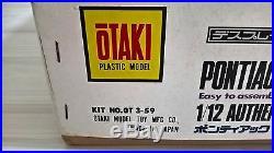 PONTIAC FIREBIRD'73 TRANS AM 112 scale OTAKI KIT OT 3-59 MINT RARE /// DOYUSHA
