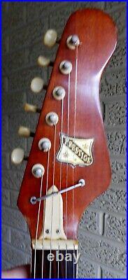 Prestige Kawai Teisco 3 pickup Electric Guitar Looks, plays, Sounds Great
