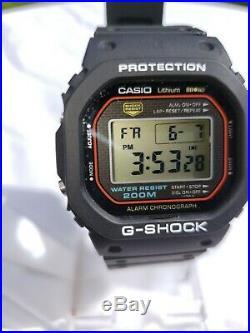 RARE 1st Generation 1983 CASIO G-Shock DW-5000C-1A (240) Japan Y low serial #