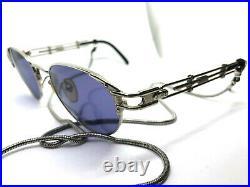 RARE! Jean Paul Gaultier 56-4177 Vintage Sunglasses Eyeglasses / Silver MIGOS
