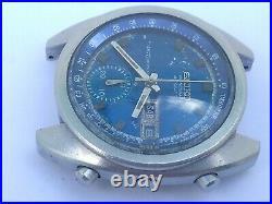 RARE VINTAGE SEIKO 6139 6010 CHRONOGRAPH AUTOMATIC DIAL WATER70m WORKING