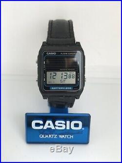 RARE Vintage Casio FB-90W Digital Solar Watch Module 668 Alarm Chronograph