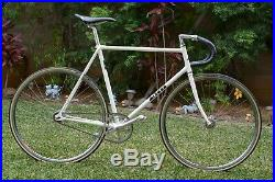 RARE Vintage Miyata Track bike 57cm Campagnolo Superbe Pro Nitto NJS