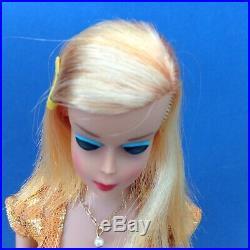 RARE. Vintage Pink Champagne Platinum Color Magic Barbie