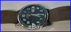 RARE Vintage Seiko 5 Sportsmatic 6619-8060 Vietnam MACV-SOG Military Watch works