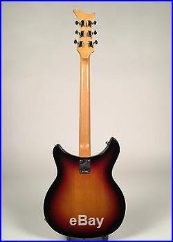Rare 1960's Teisco Gen Gakki Sunburst Idol / Honey SG-5 Semi-Hollow