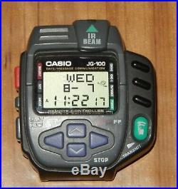 Rare CASIO JG100 Cyber Cross Vintage Game Watch 1994 Japan JG-100