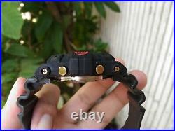 Rare G-shock Dw-6300 The First Frogman Custom Black Bezel Vintage Japan