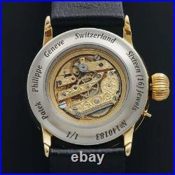 Rare Patek Philippe antique skeleton watch men's women's vintage From Japan