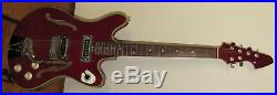 Rare Vintage 1960 Teisco Del Rey Coronado Guitar (EP-10T Thinline) MIJ Japan