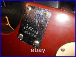 Rare Vintage 1977 Ibanez Custom GOLDTOP Standard Electric Guitar Japan